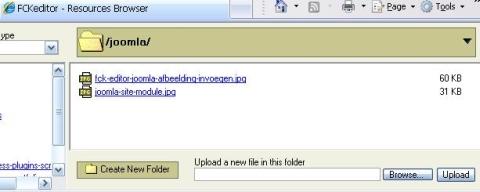 makkelijk afbeeldingen toevoegen in je Joomla site