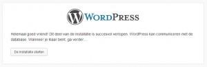 WordPress Handmatige Installatie Stap 4