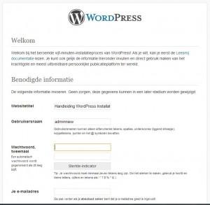 WordPress Handmatige Installatie Stap 5